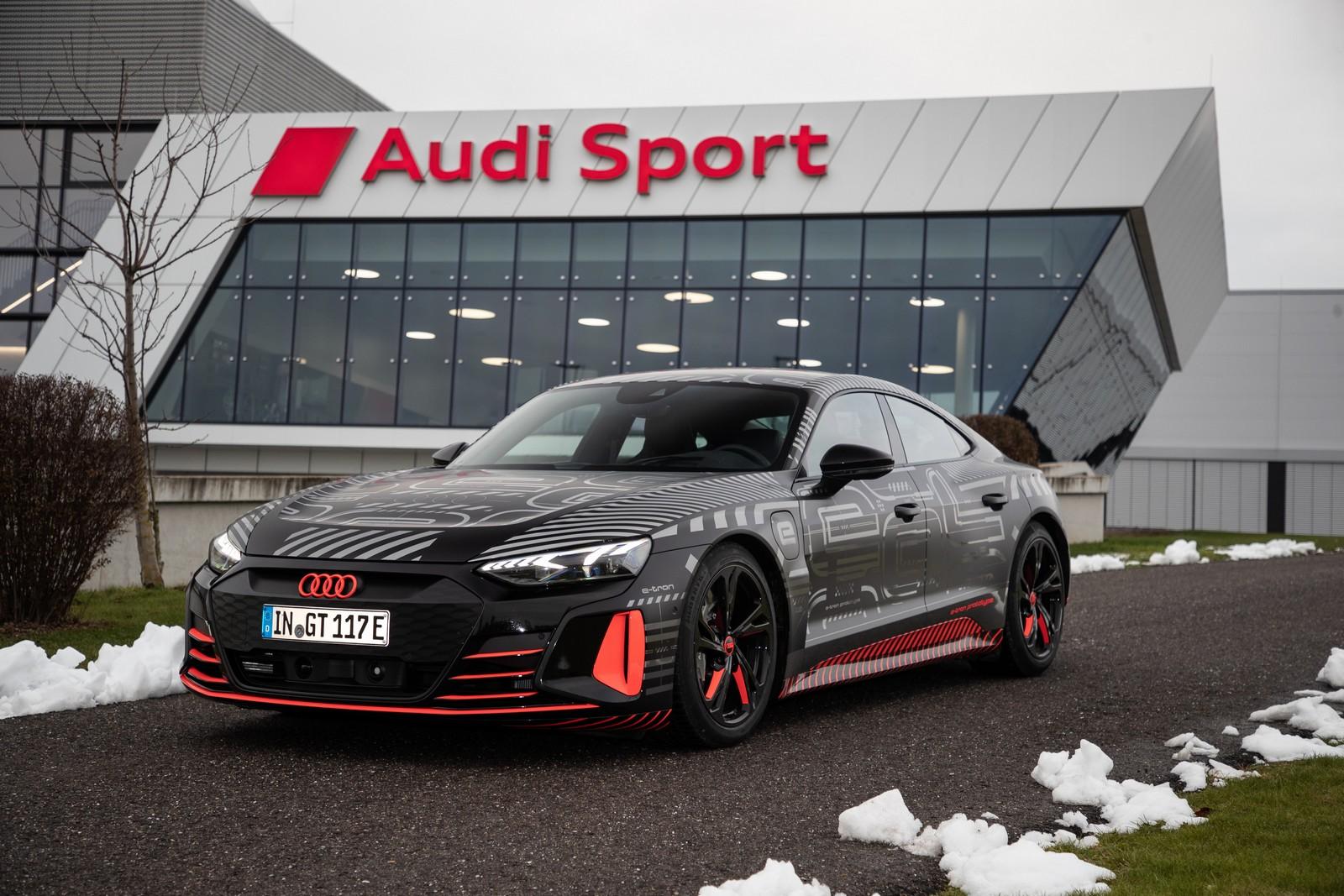 Audi E Tron Gt Enters Series Production: Carbon Neutral Producti