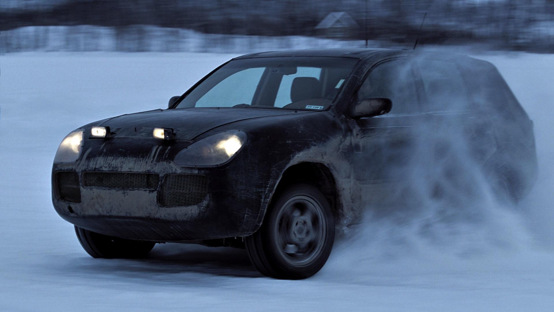 Historia Porsche Cayenne (2)