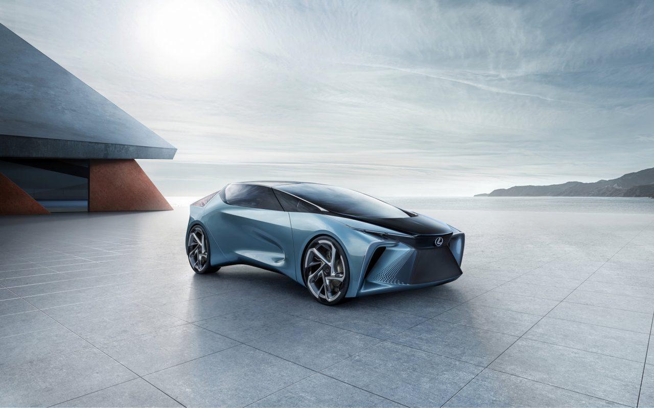 Lexus Suv Electrificacion