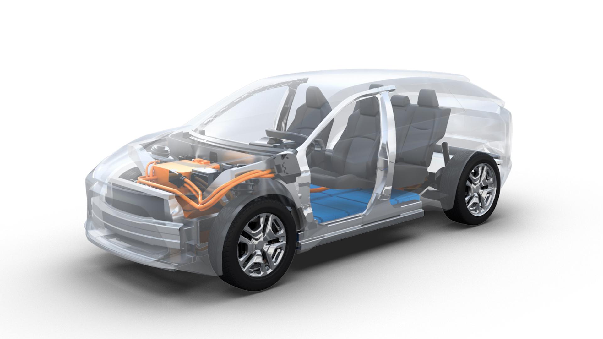 Subaru Toyota Suv Electrico 1