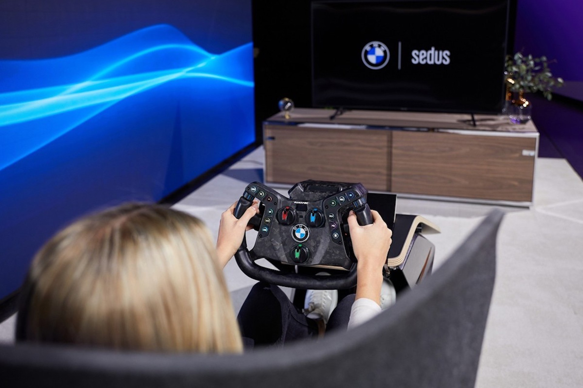 Volante Bmw Fanatec Virtual Real 2