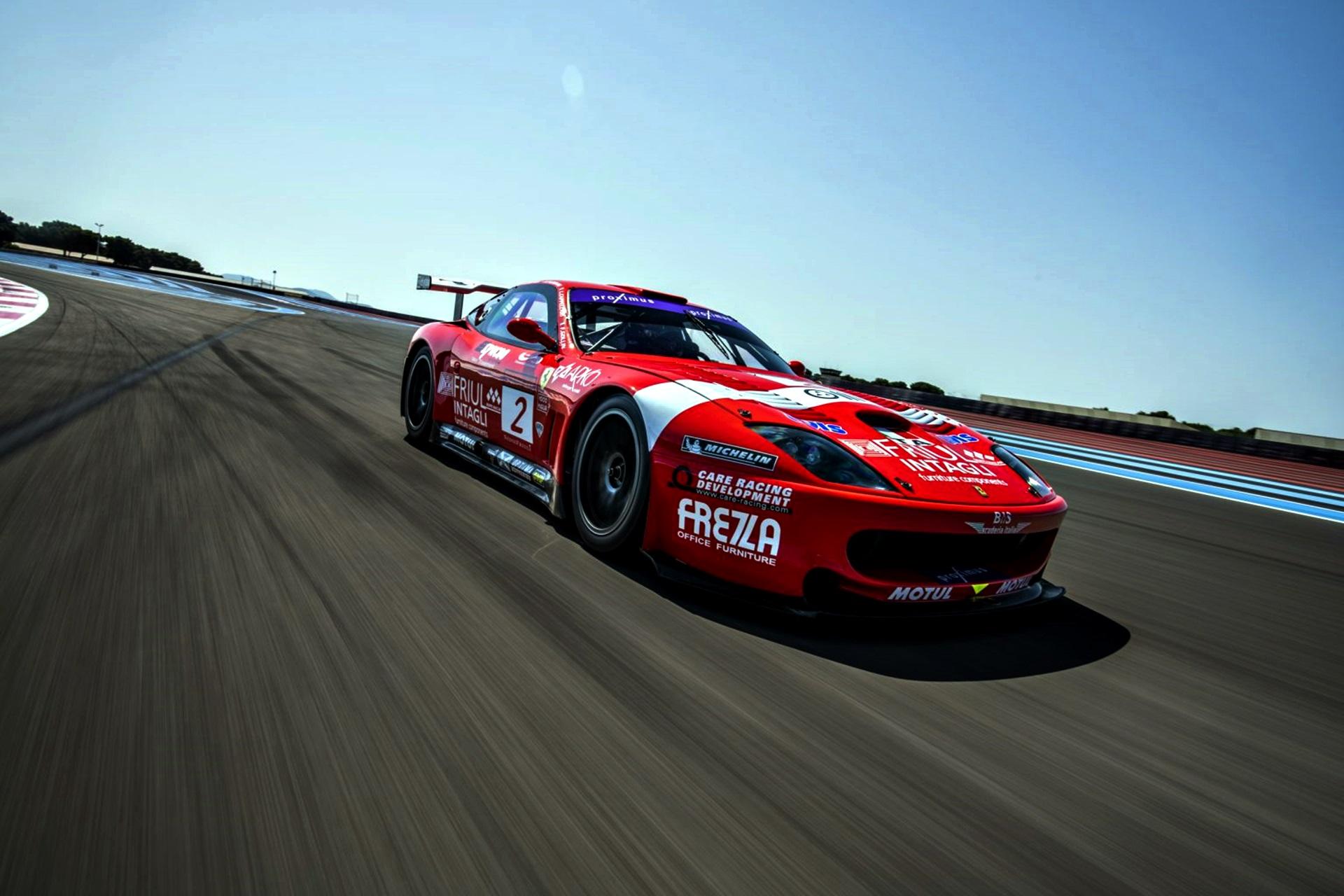 9. 2001 Ferrari 550 Gt1 Prodrive Rm Sotheby's Remi Dargegen
