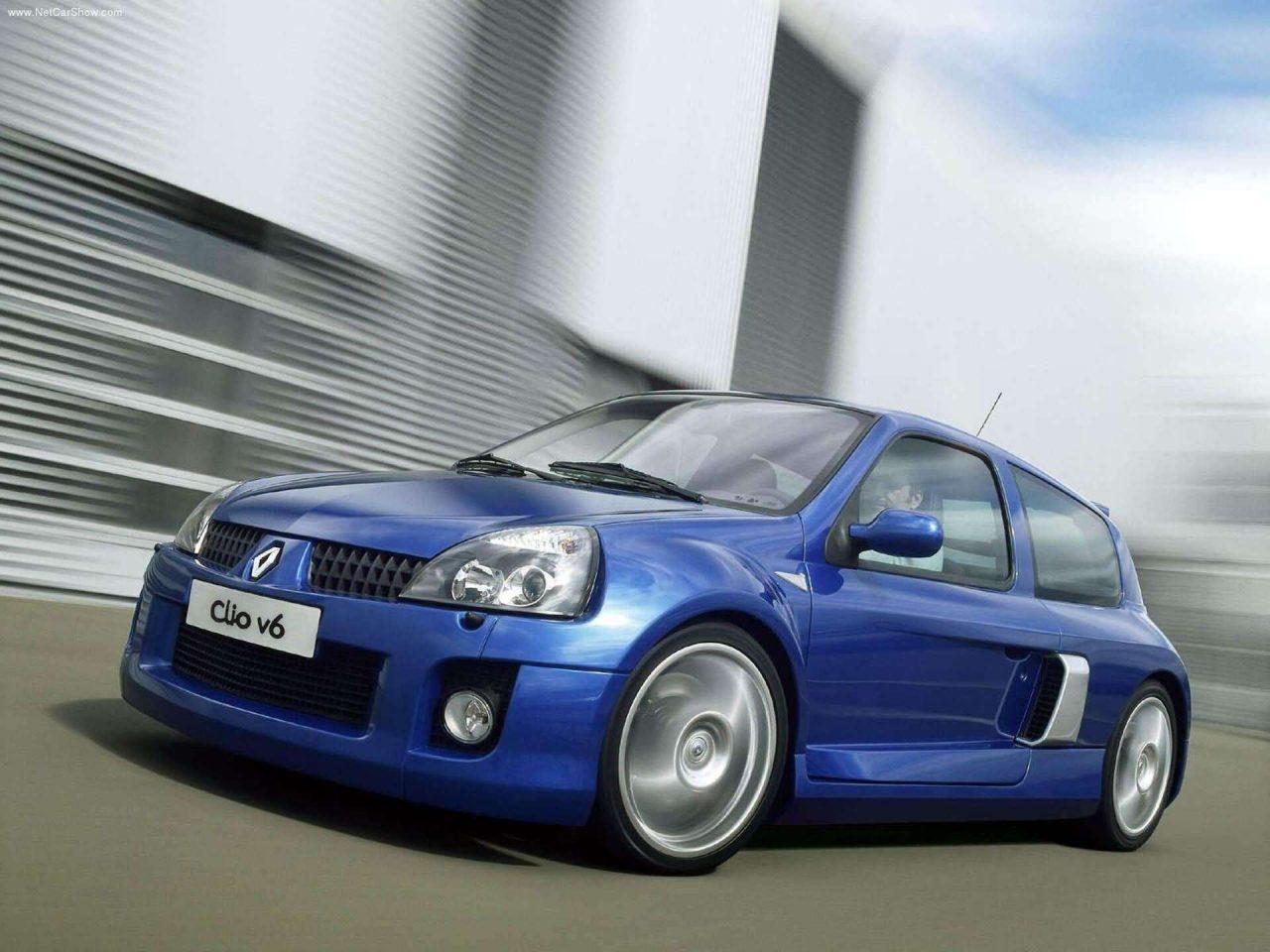Renault Clio V6, la bestia gala celebra su 20º aniversario