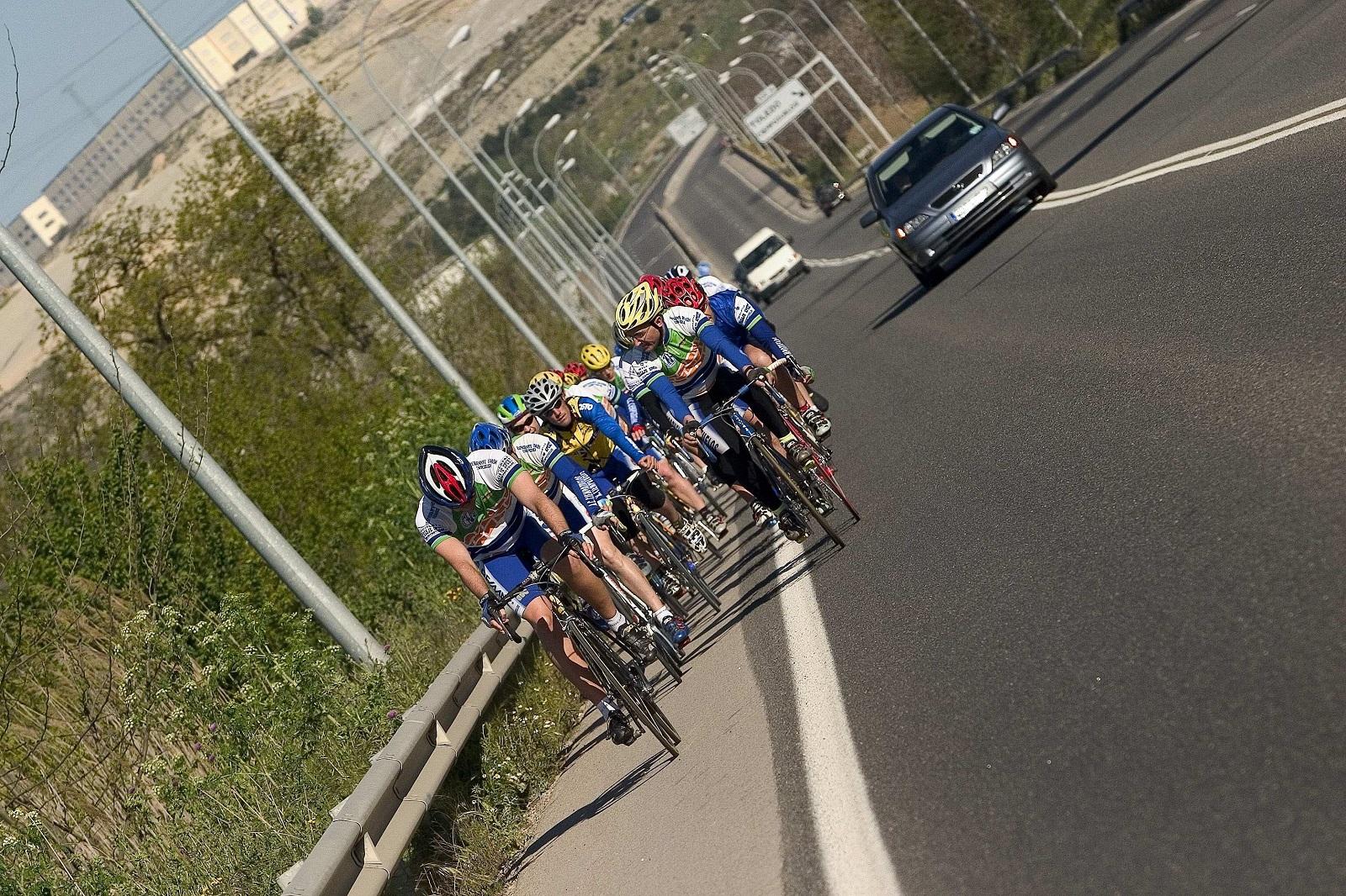 Adelantamiento Ciclistas