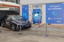 Inaugurada la primera estación de repostaje de hidrógeno de Madrid