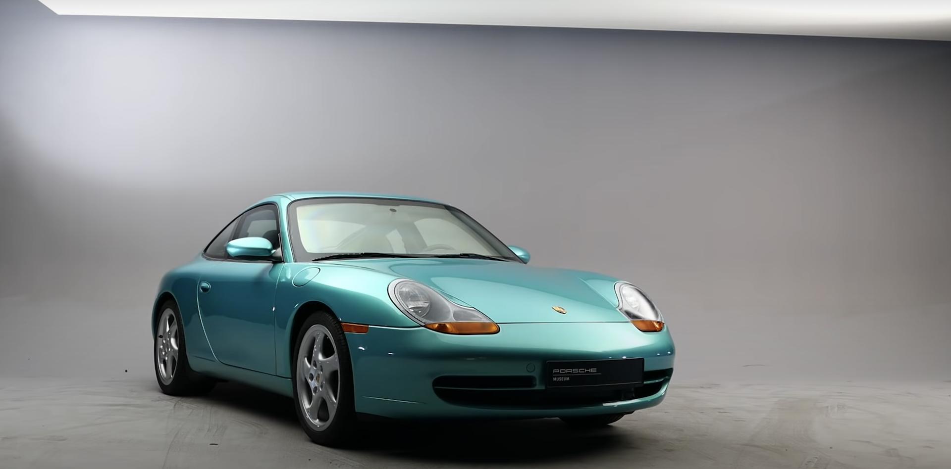 Porsche 911 996 Blindado 1