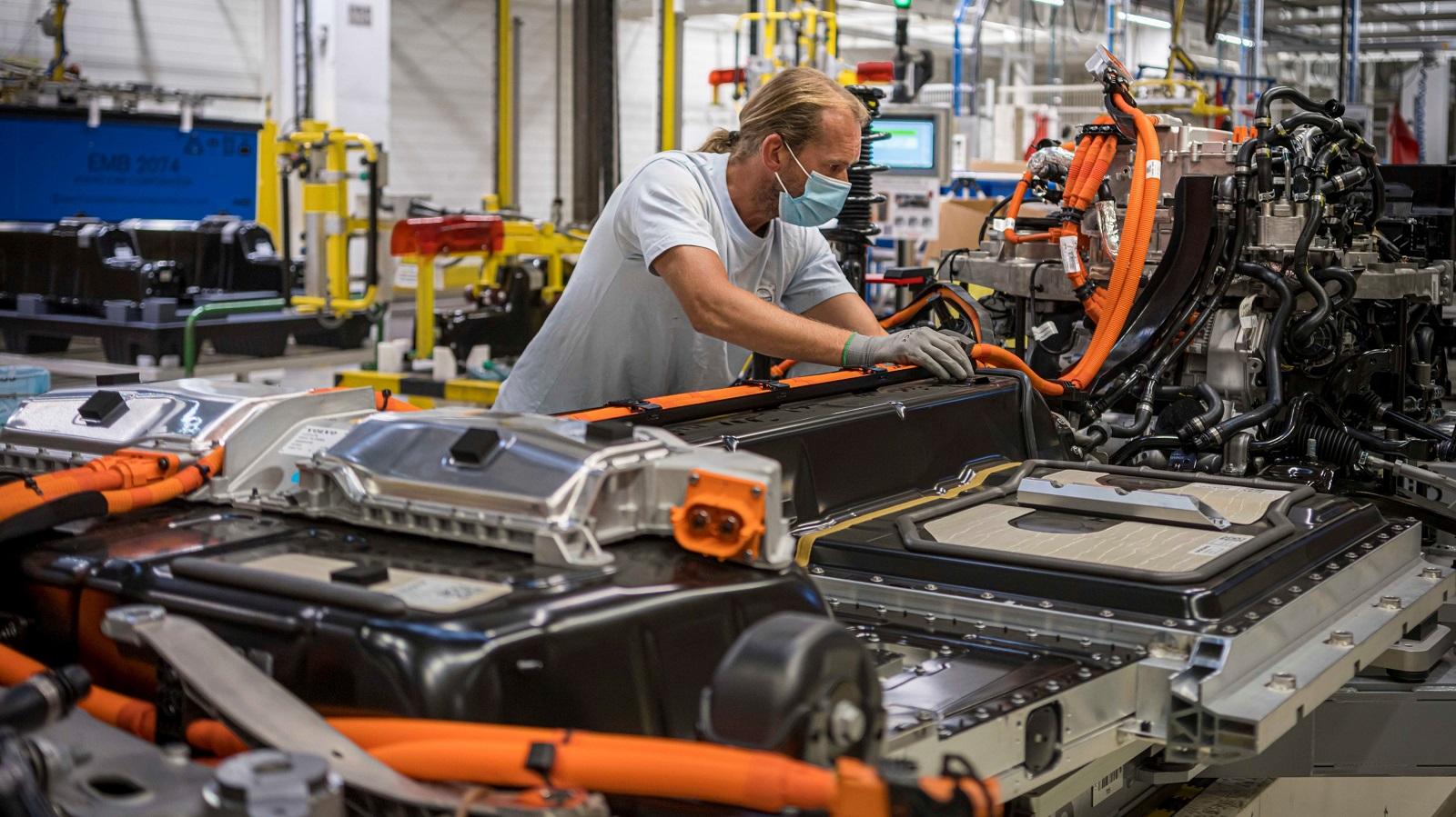 Volvo Fabrica Gante