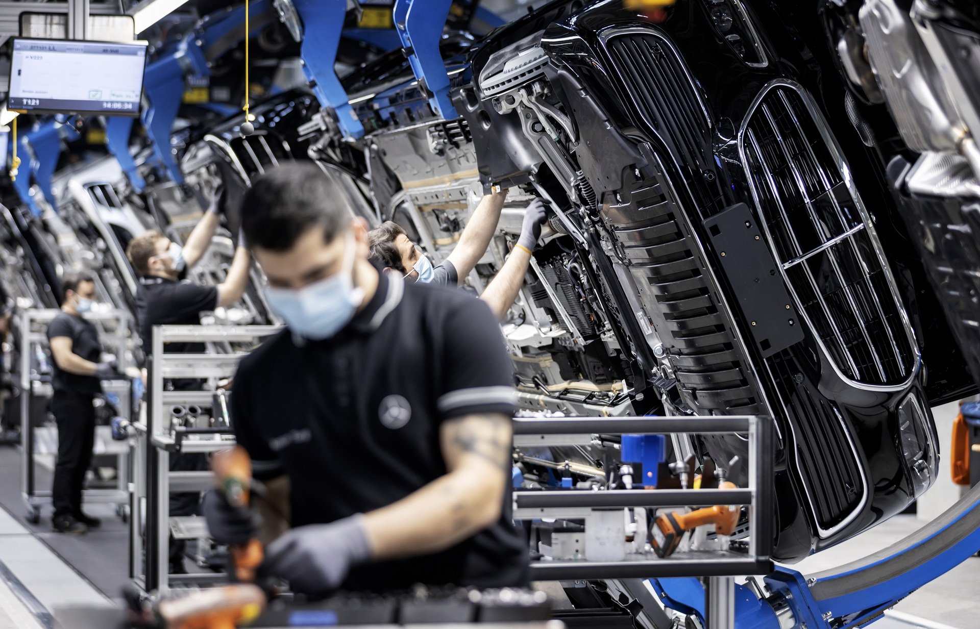 2021 Mercedes Maybach S Class 50 Million Car Production Milestone 4