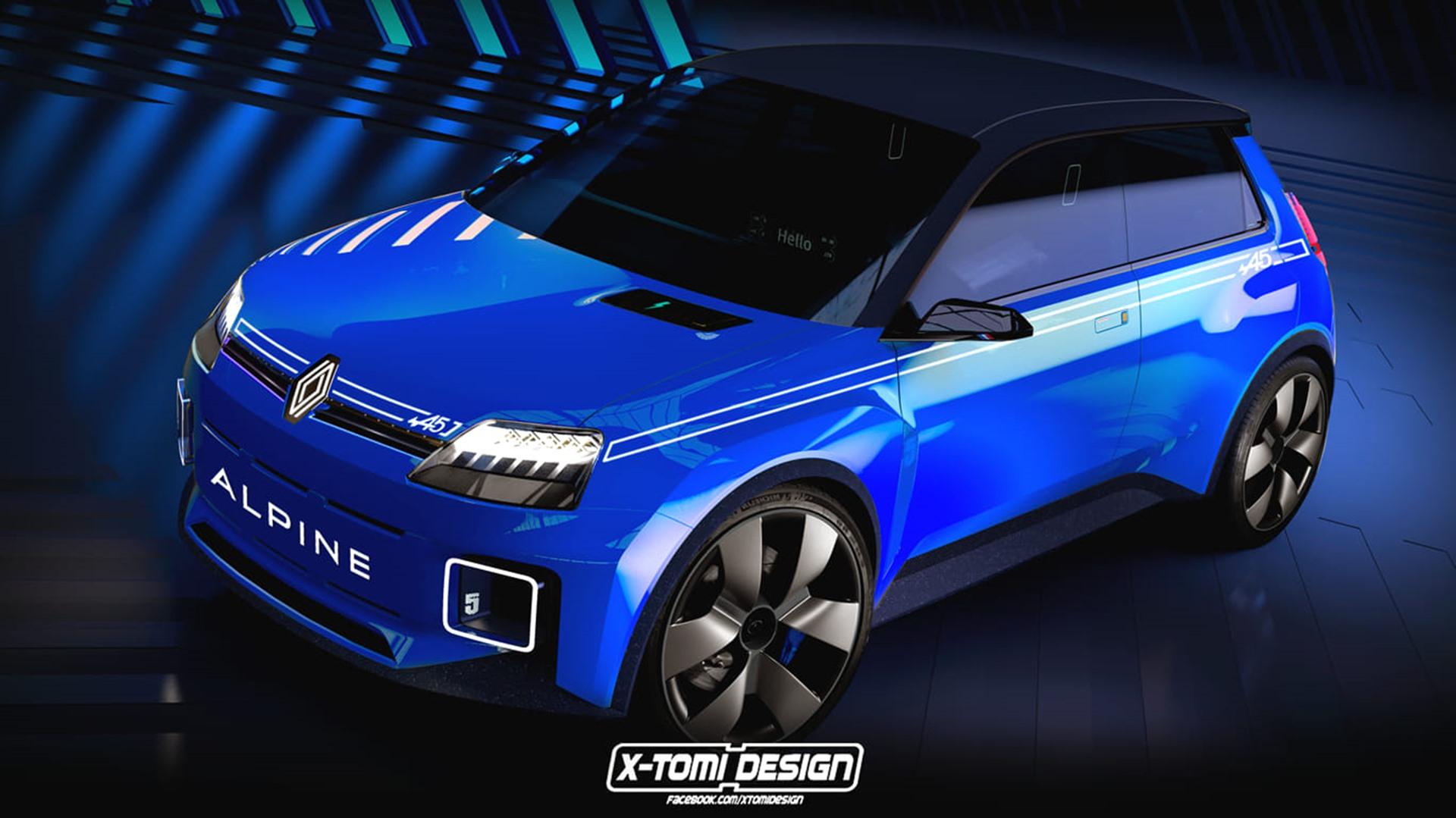 Alpine 5 Ev X Tomi Design