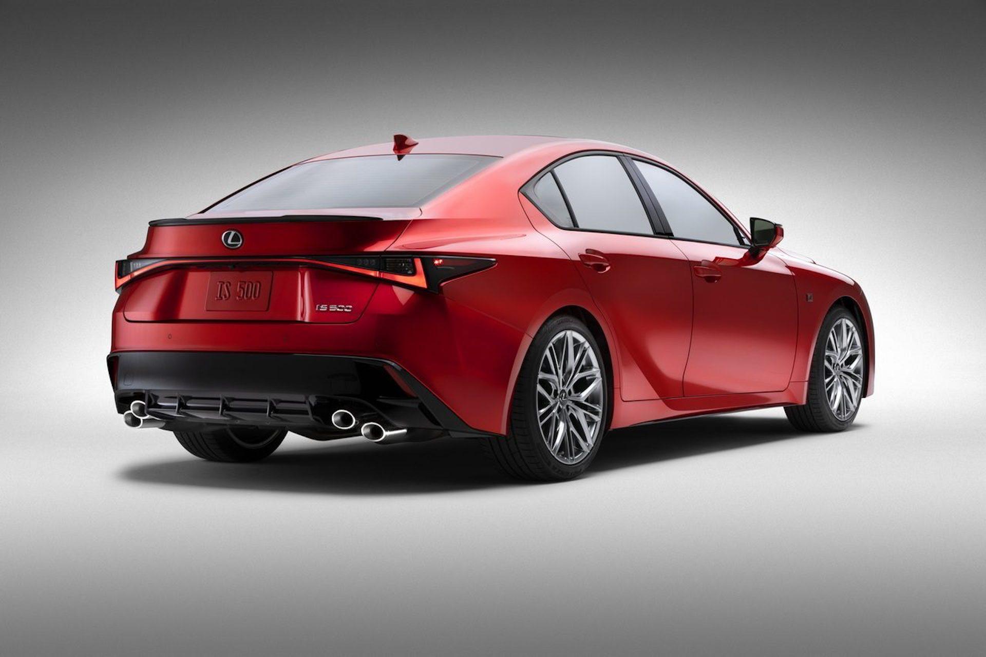 Lexus Is 500 F Sport Performance 2021 3