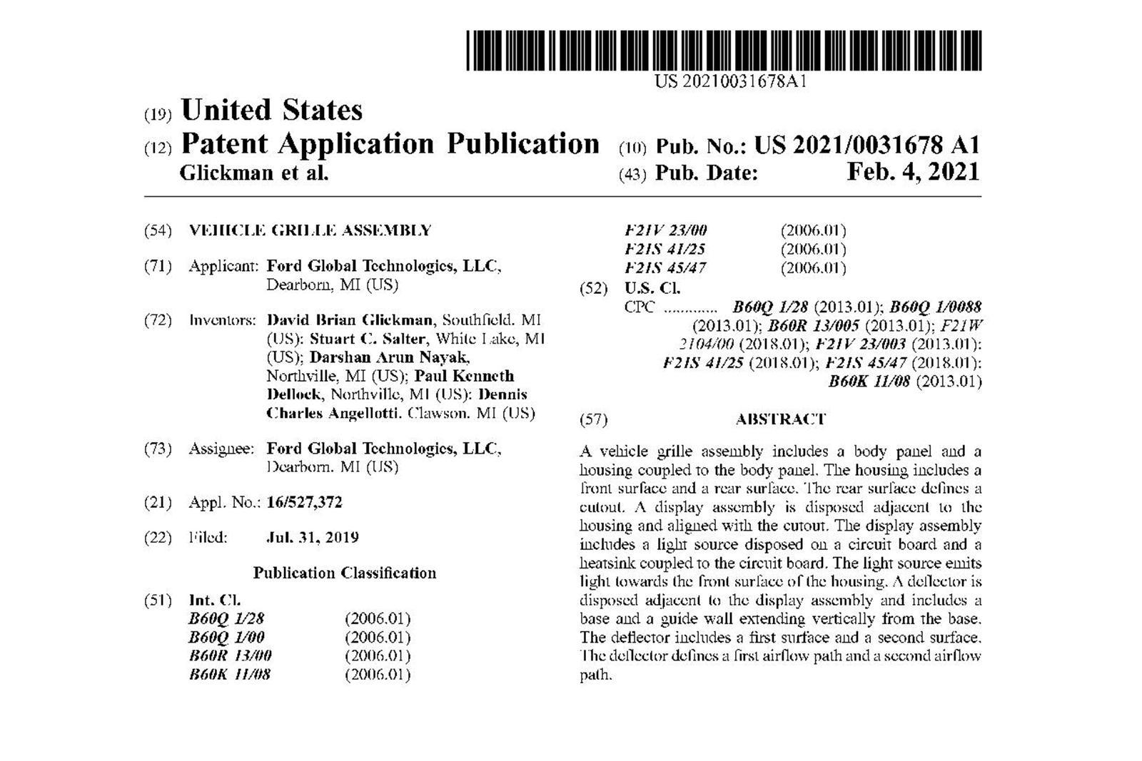 Patente Ford 1