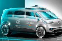 Volkswagen ID.Buzz: la furgoneta eléctrica también será autónoma