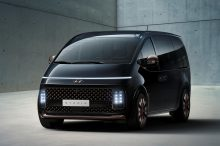 Hyundai muestra a su futuro monovolumen al completo, el Staria