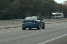 Pillado un BMW M2 CS a 256 km/h en la AP-7