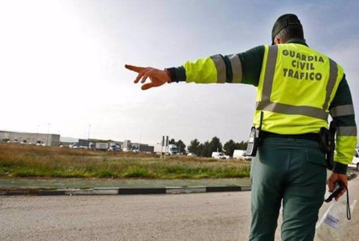control Guardia Civil Semana Santa