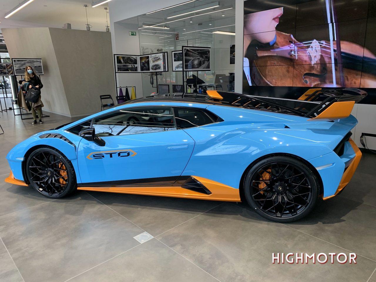 Lamborghini Huracan Sto Highmotor 8