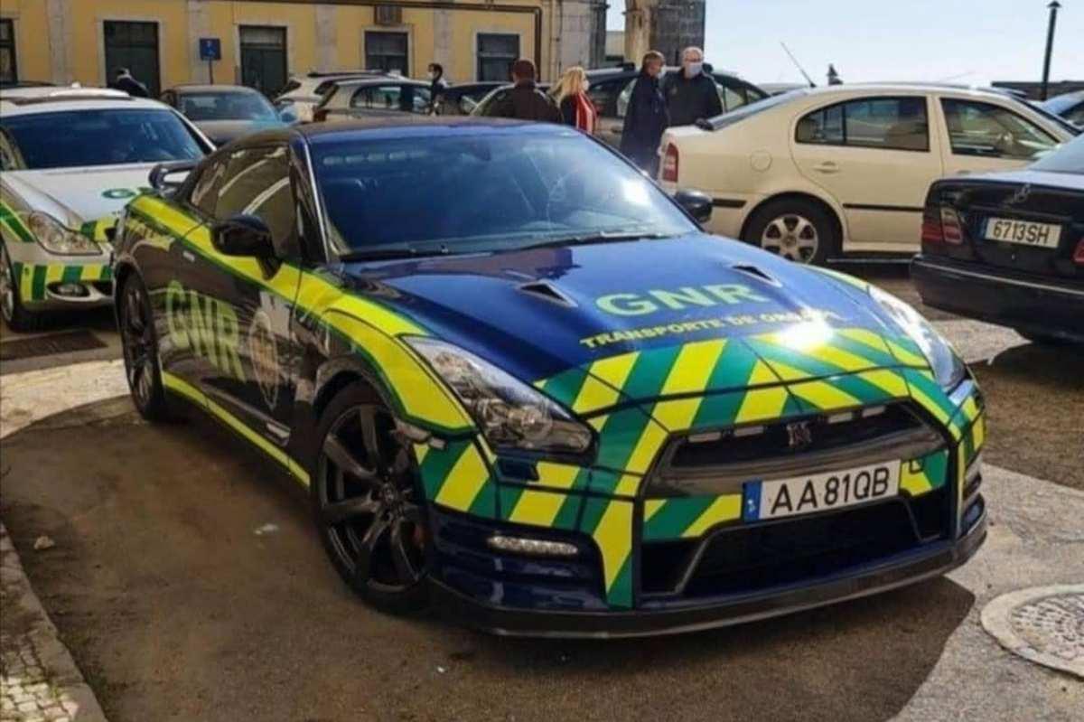 Nissan Gt R Policia Portugal