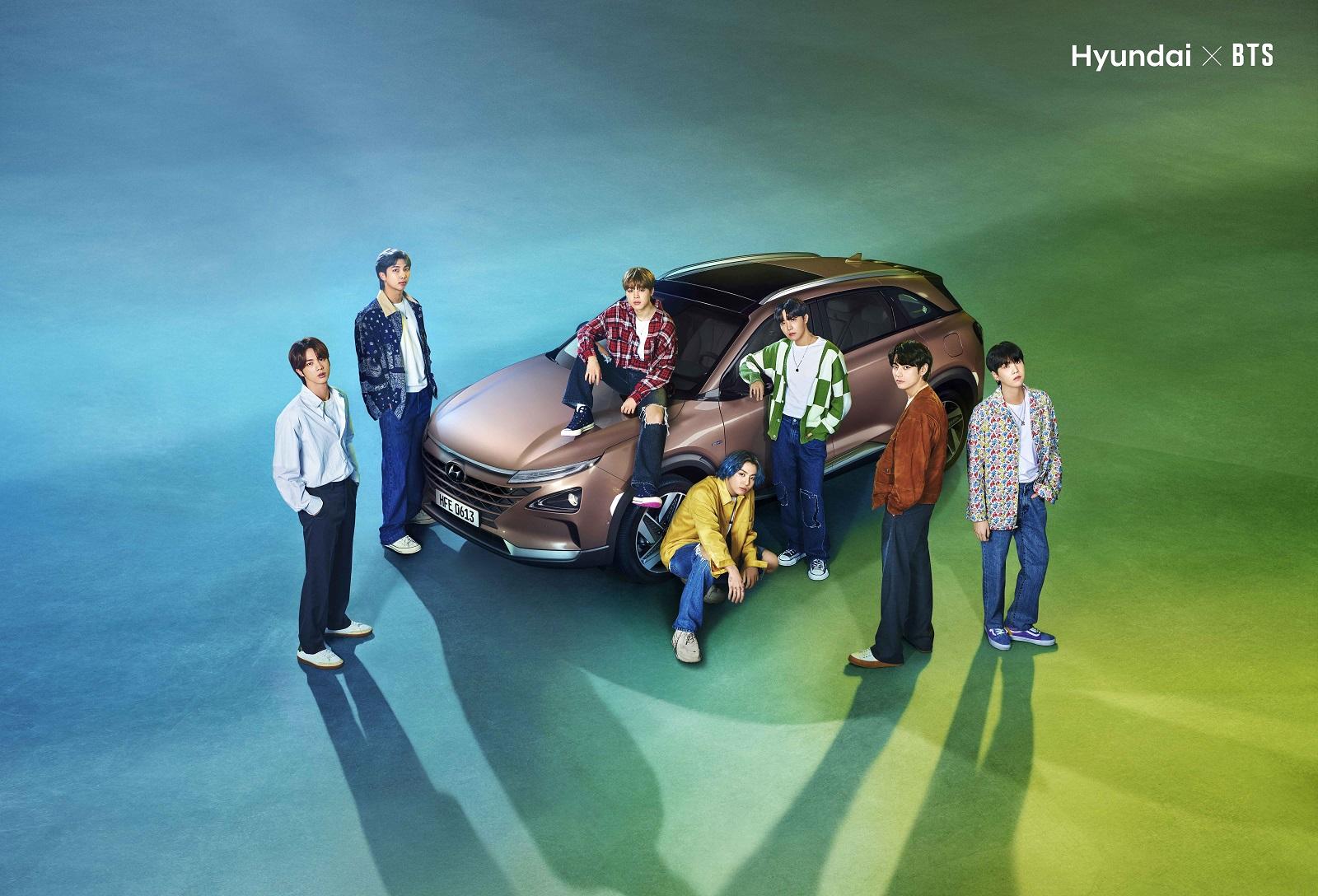 Hyundai Nexo Bts Dia Tierra