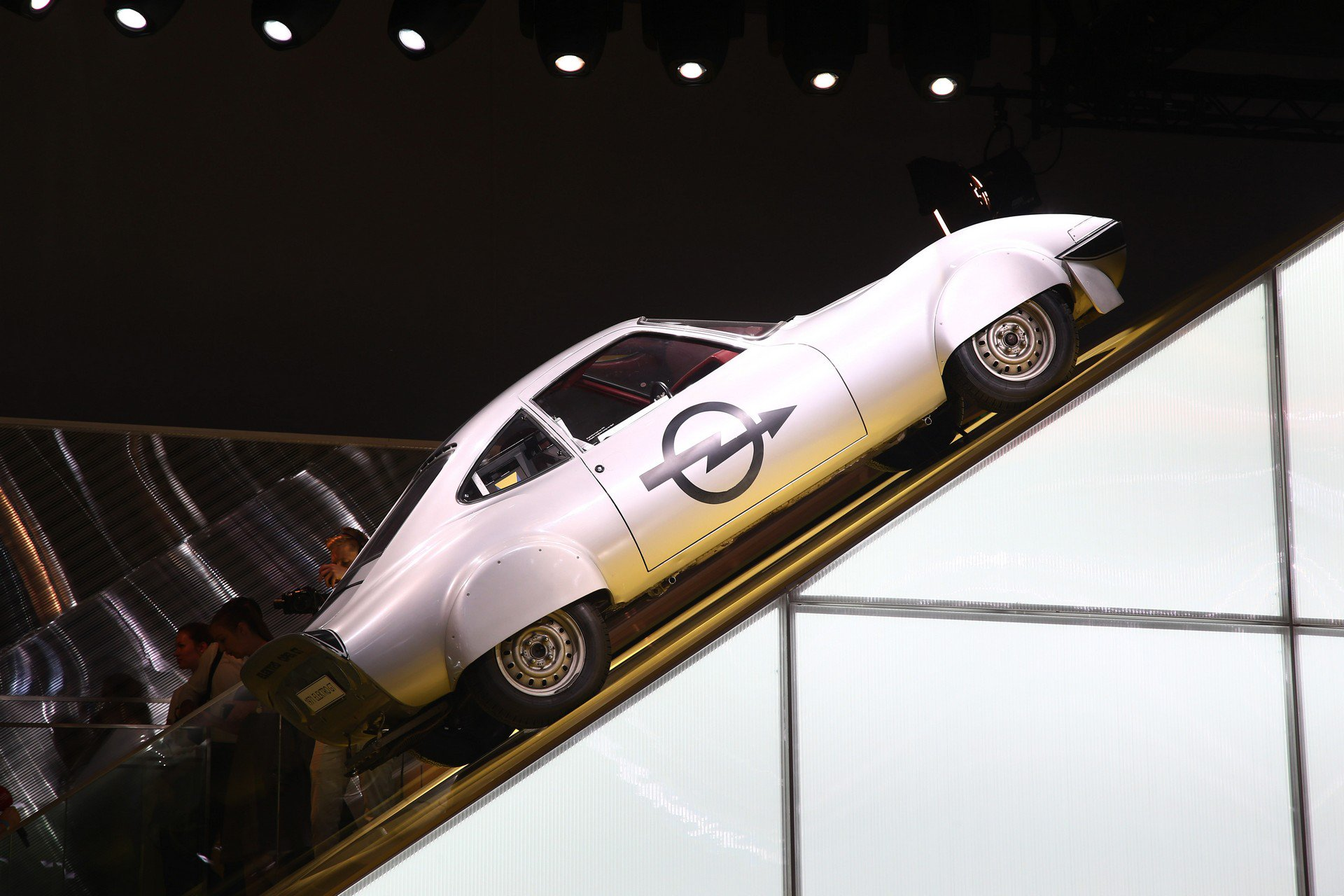 Opel Elektro Gt Salon Frankfurt 1