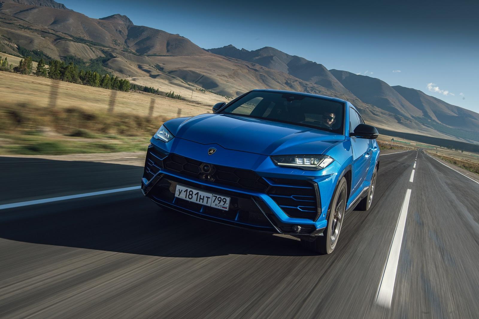 Lamborghini Urus Azul