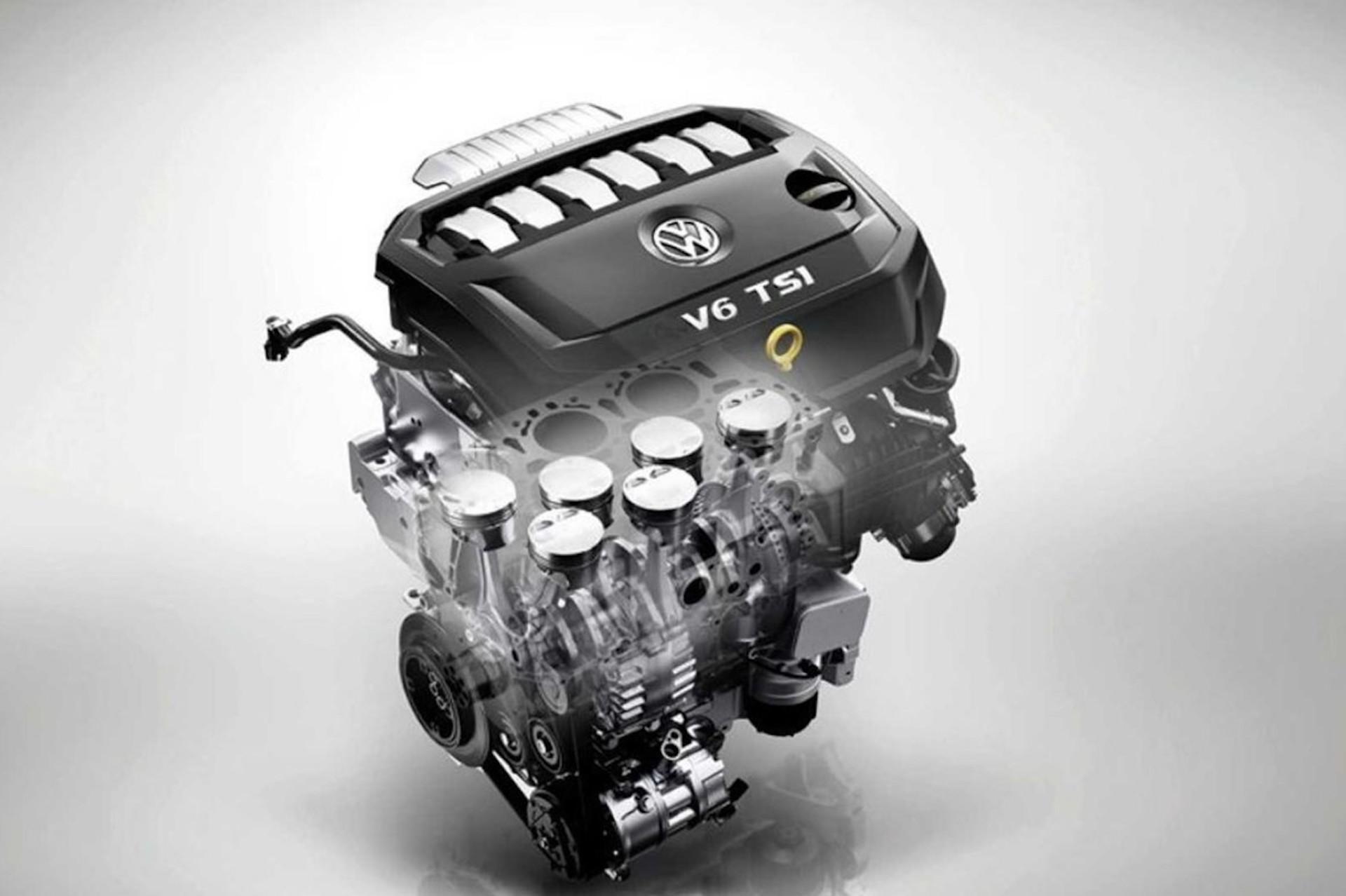 Volkswagen Motor Vr6 China 1