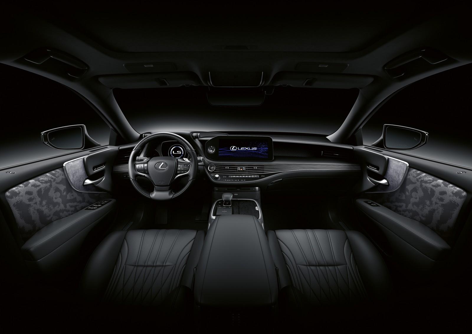Lexus Ls 500h Interior 04