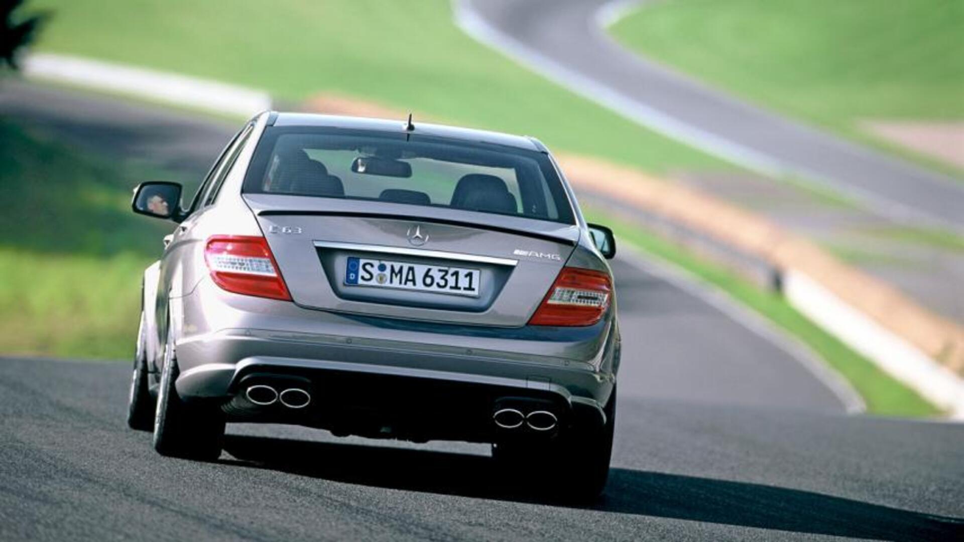 Mercedes C63 Amg 2007 W204 1846639