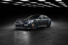 El Porsche Panamera visita TechArt y se viste con un traje nuevo para ganar potencia
