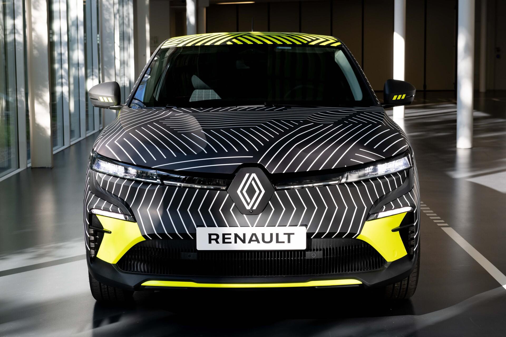 2021 New Renault Megane Etech Electric Preproduction 1