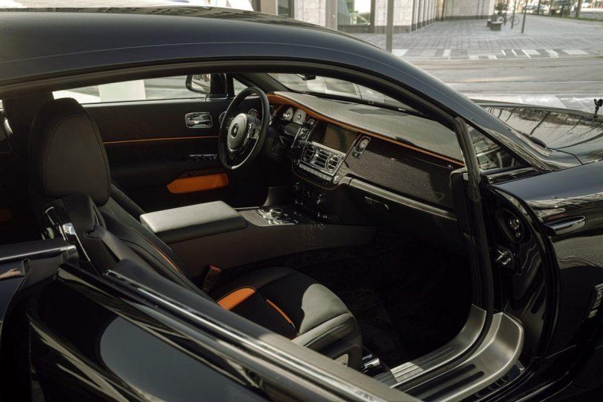 Rolls-Royce Wraith Black Badge Overdose