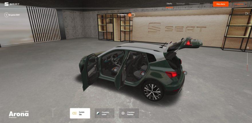Seat Virtual Experience
