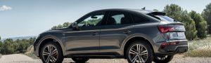 Nos sentamos en el Audi Q5 Sportback 50 TFSIe, un híbrido con diseño