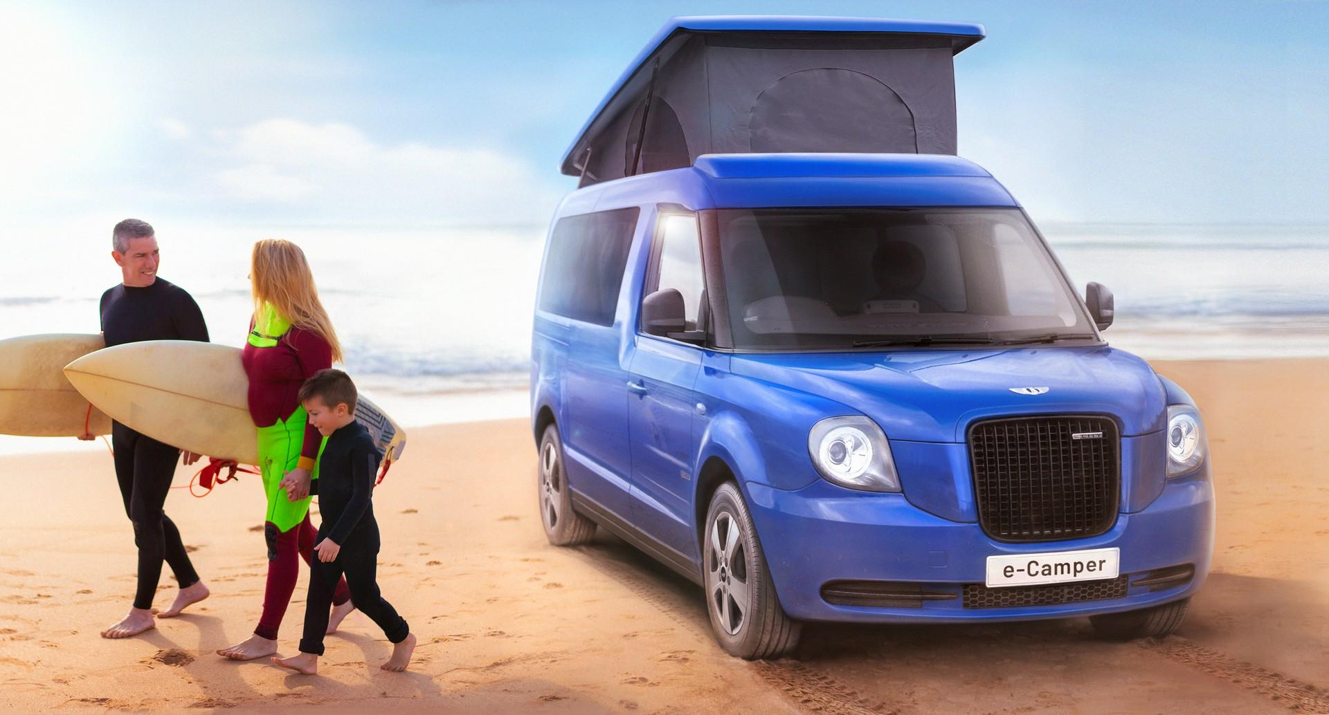 Camper Electrica Taxi