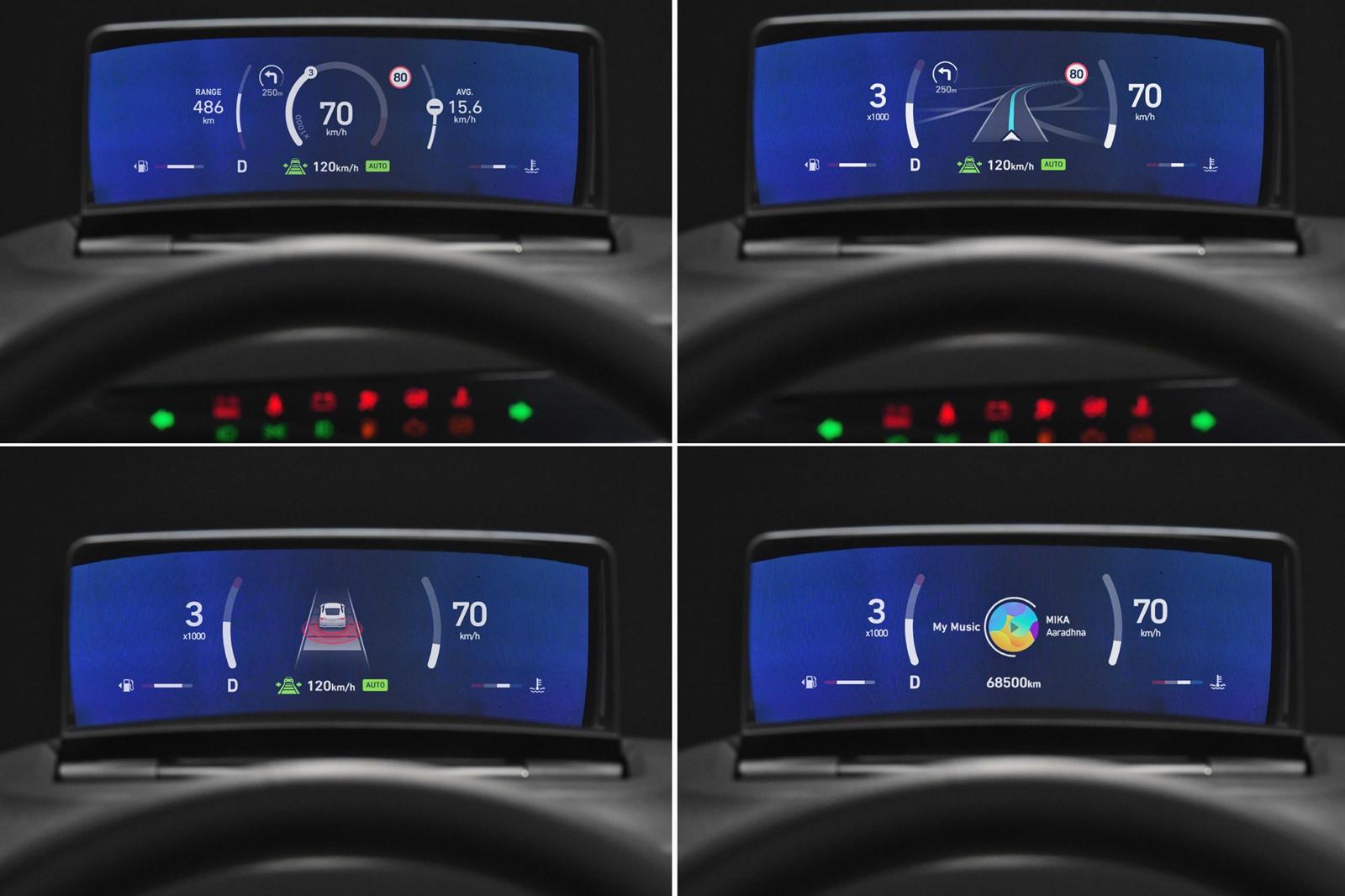 Head Up Display Hyundai