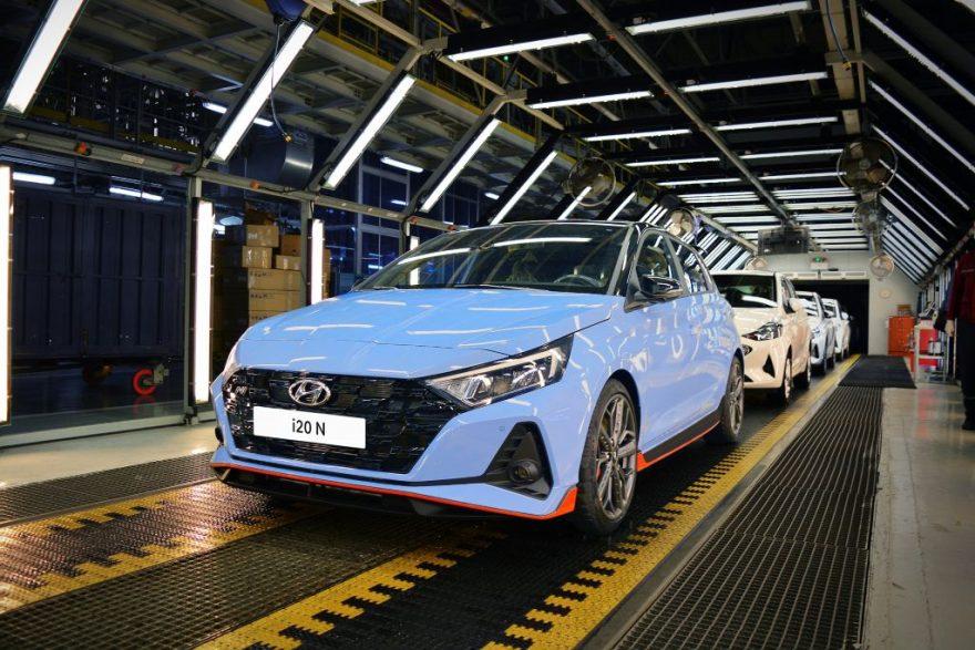 Hyundai I20 N e I20 N Line producción