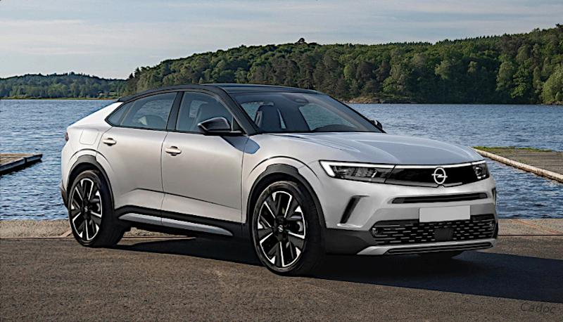 Teaser Opel Astra Cross 2023