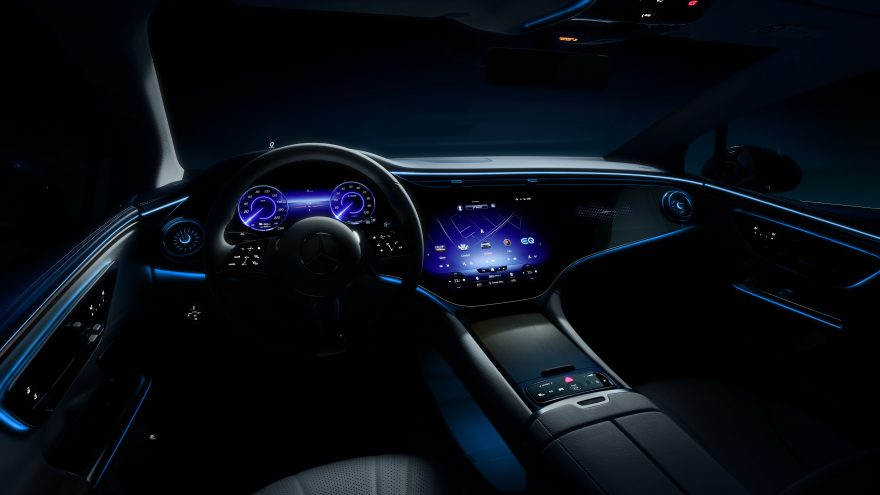 Mercedes EQE Teaser