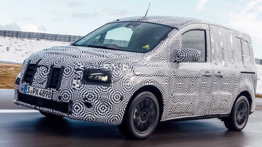 Mercedes-Benz eCitan 2021 filtración