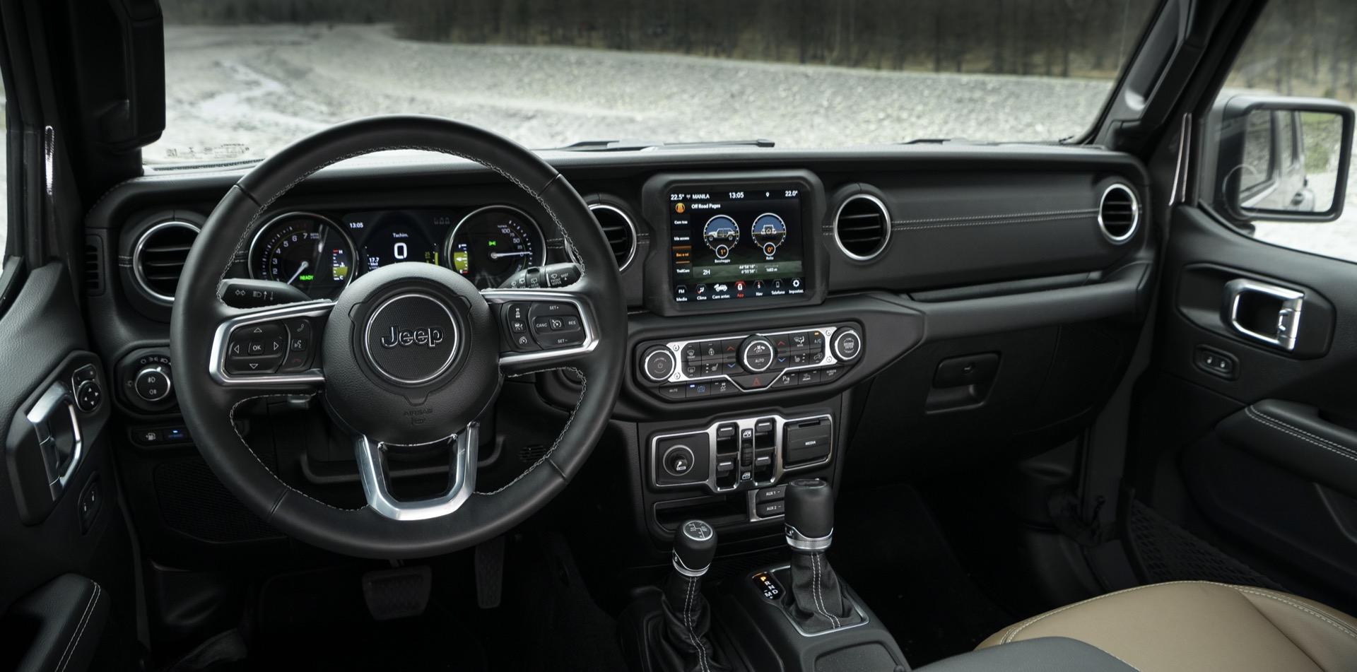 Jeep Wrangler Hibrido 8