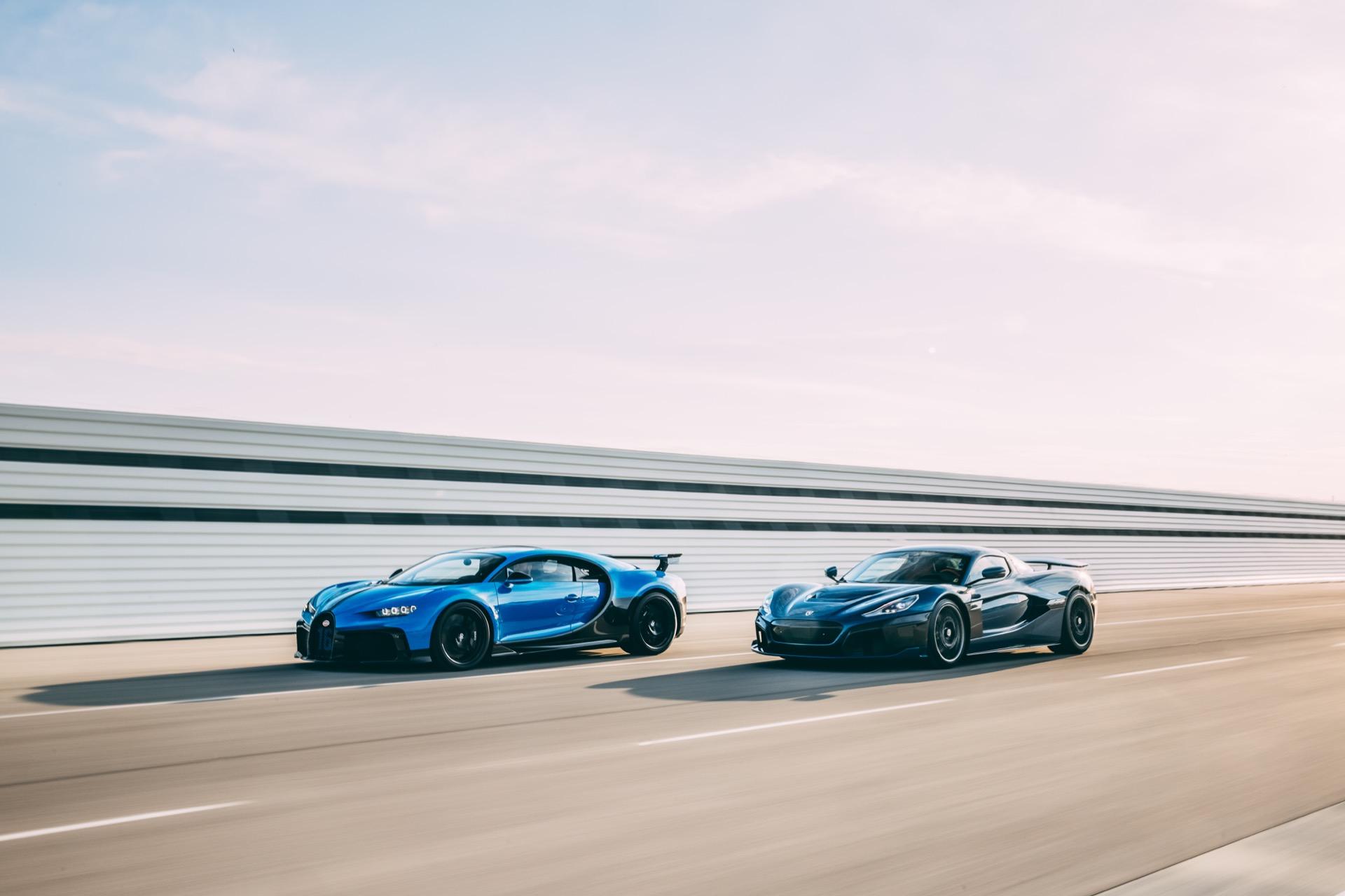 Porsche Bugatti Rimac 4