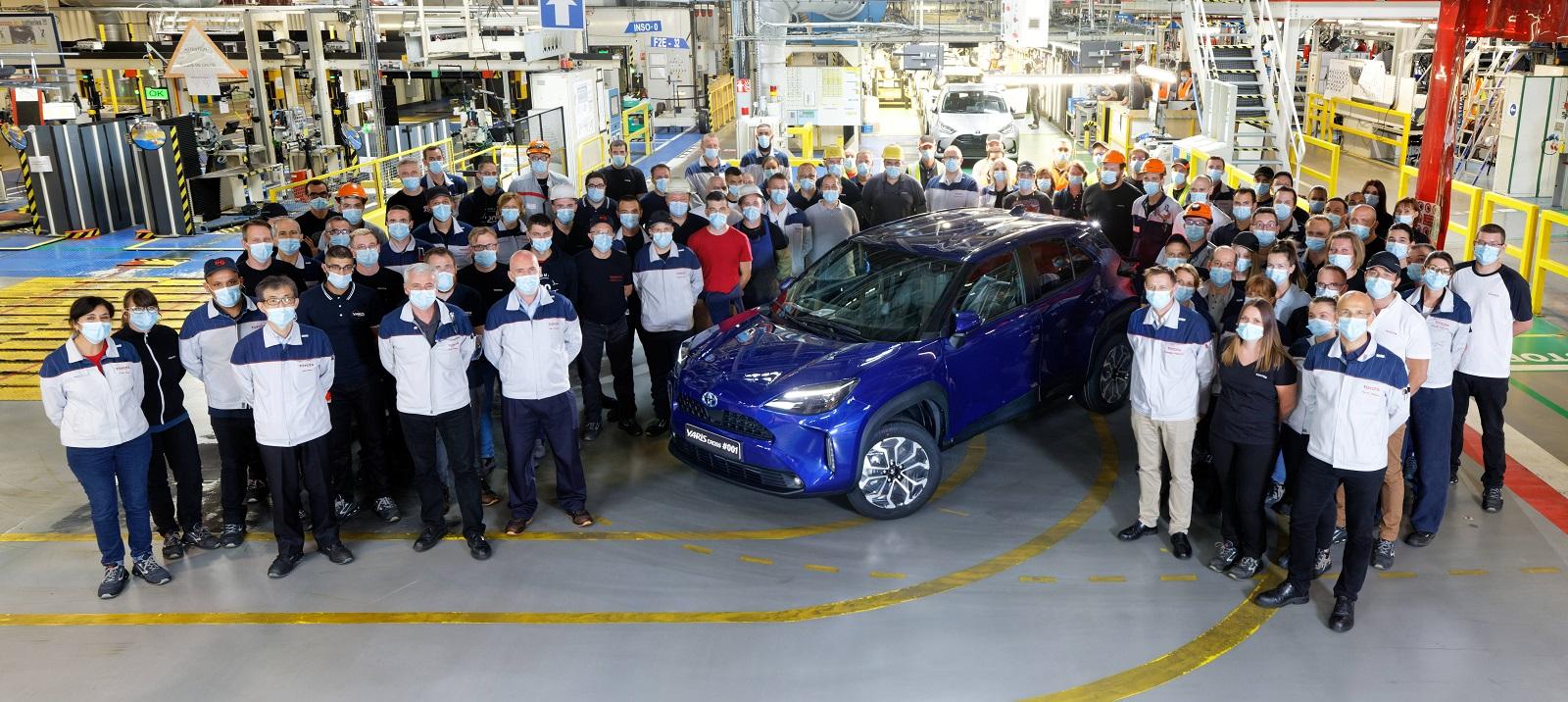 Toyota Yaris Cross Fabricacion