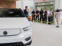 Fdny Xc40 Recharge Grille Event