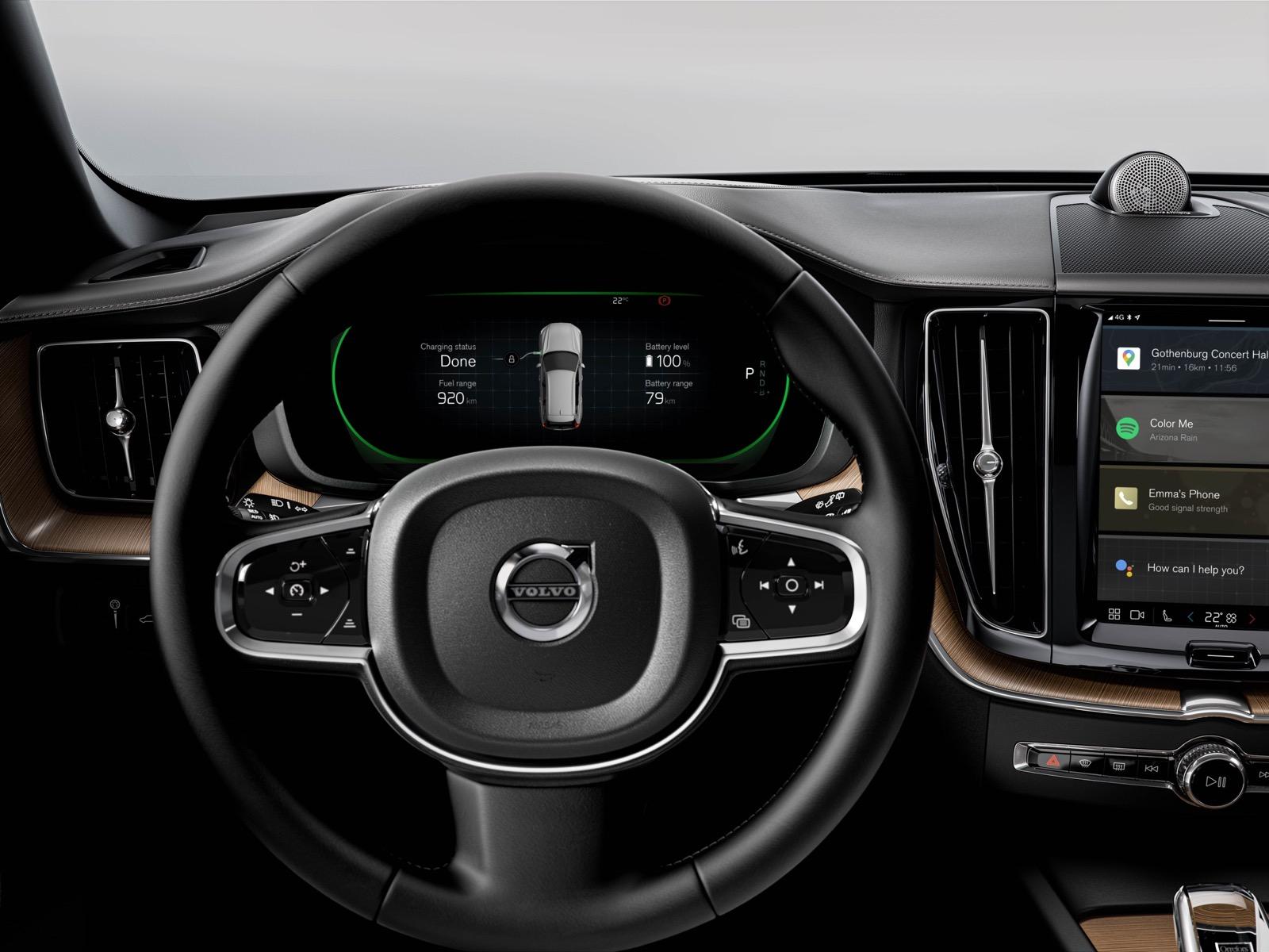 Volvo Xc60 Recharge Interior