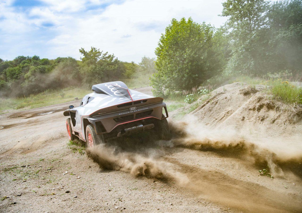 Road To Dakar Test Audi Sport