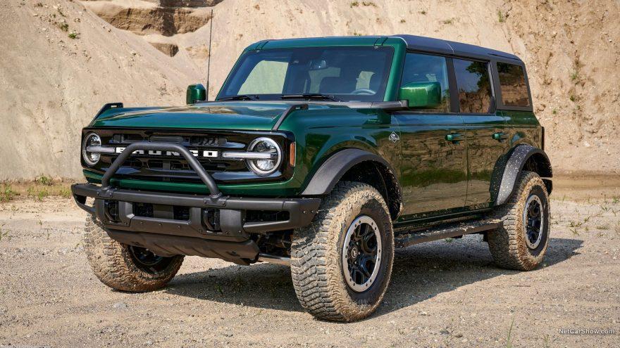 Ford Bronco 4 puertas