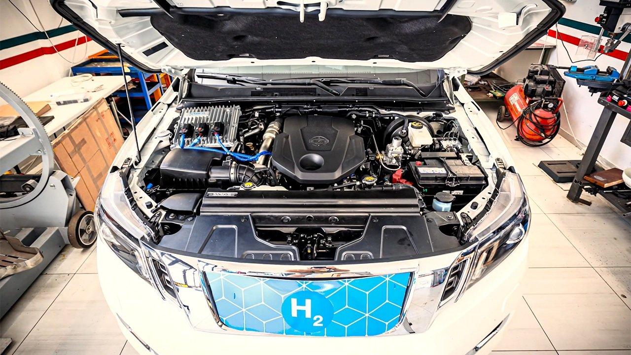 Nissan Navara Hidrogeno Navara