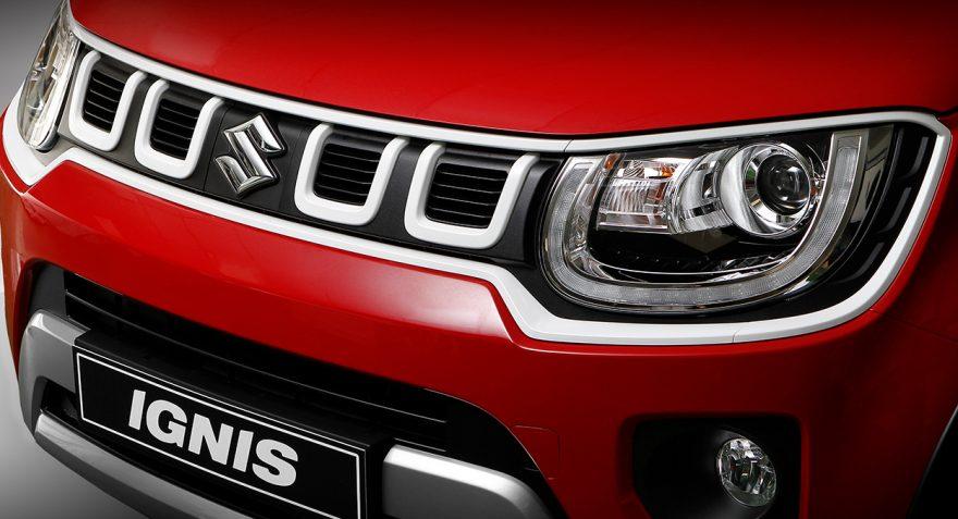 Suzuki Ignis Red&White