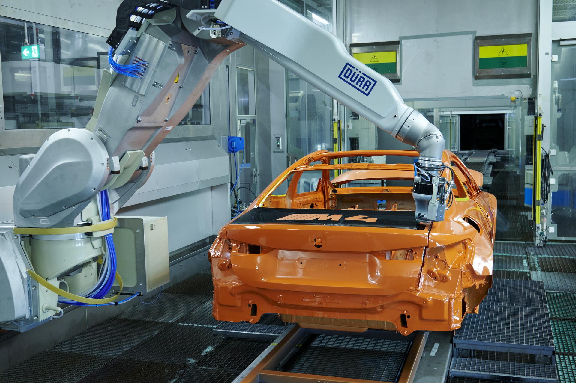 2022 Bmw M4 Ecopaintjet Pro Process 5