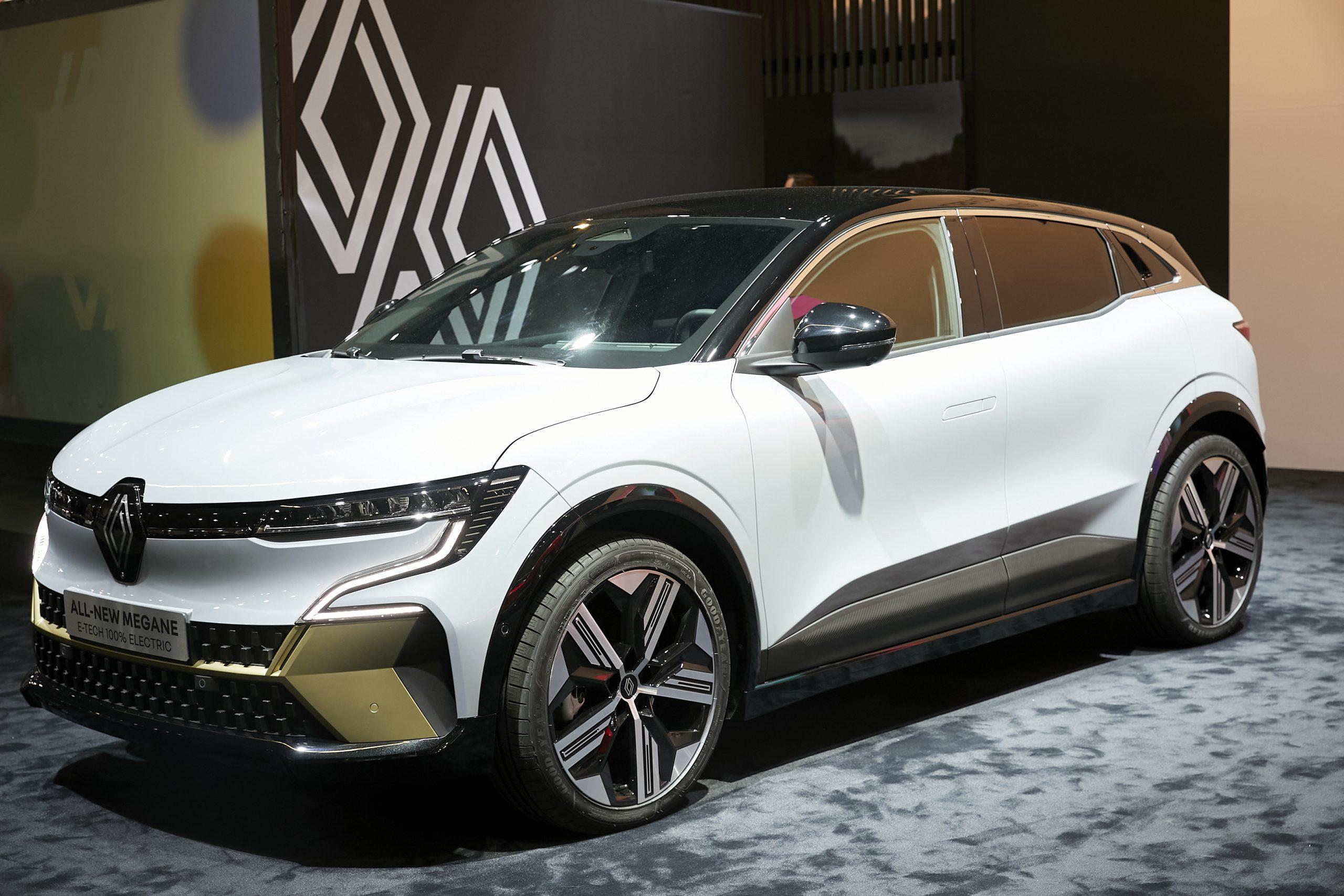 Renault Megane E Tech