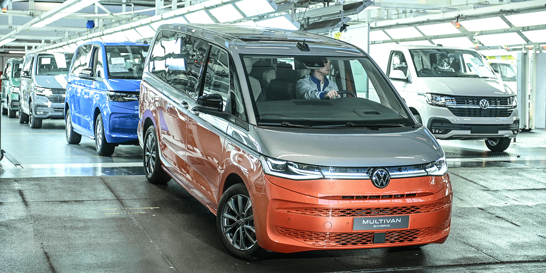 Volkswagen T7 Produccion 2021